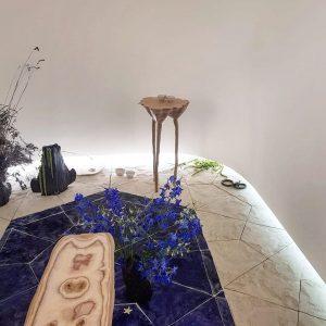 L'installation d'Hugo appelée «Un Jardin d'Intérieur»