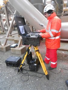 Centrica employee quickly getting used to Pipecheck with the rugged Field Pack