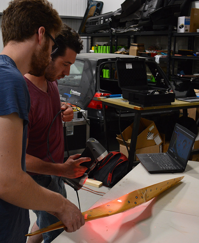 The HERA team saved over 200 hours of measurements with the HandySCAN 3D