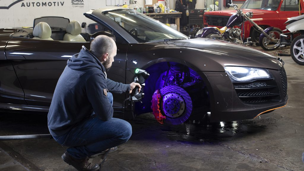 HandySCAN 3D for automotive aftermarket industries