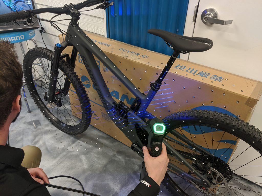 HandySCAN_3D scanning bike