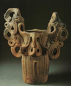 Prehistoric ceramic art from Japan at The British Museum in London