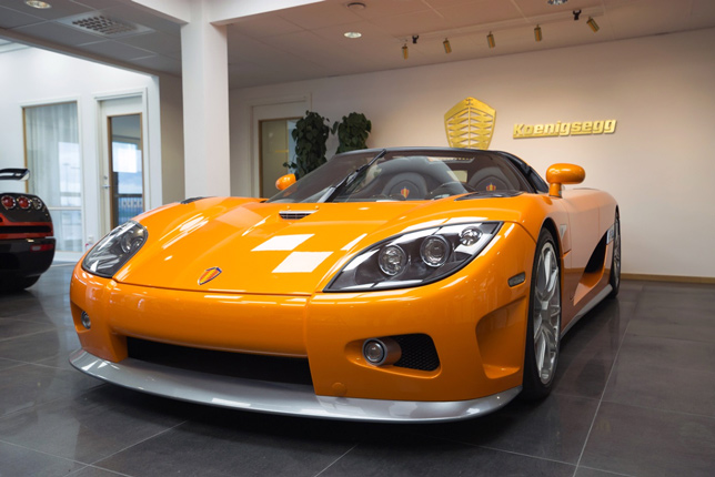 Koenigsegg cars: Combination of Swedish Design with visionary technical solutions.