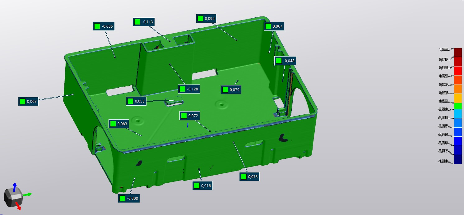 Green representation of mousetrap in VXinspect