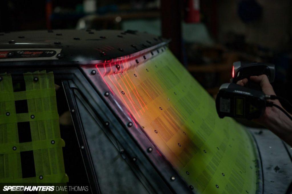 3D scanning the Targa Truck