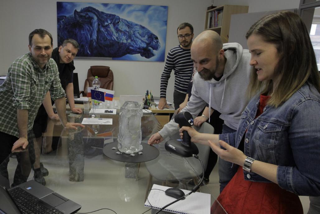 Le soluzioni per la scansione 3D di Creaform ACADEMIA aiutano ricercatori e insegnanti a promuovere l'innovazione negli istituti di insegnamento della Repubblica Ceca