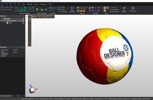 Ball design screenshot