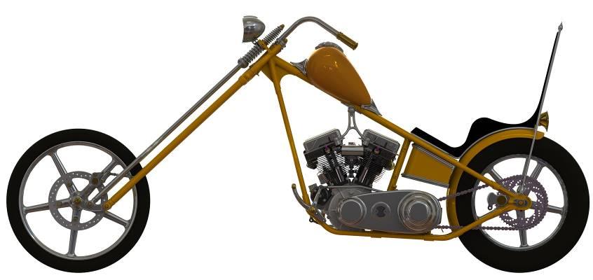 Chopper Thunderbike