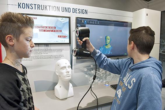 Creaform unterstützt Bildungsinitiative mit portablem 3D-Scanner