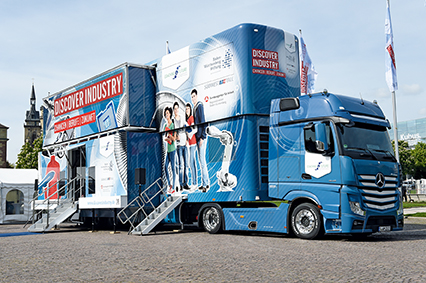 Discover Industry Roadshow Truck