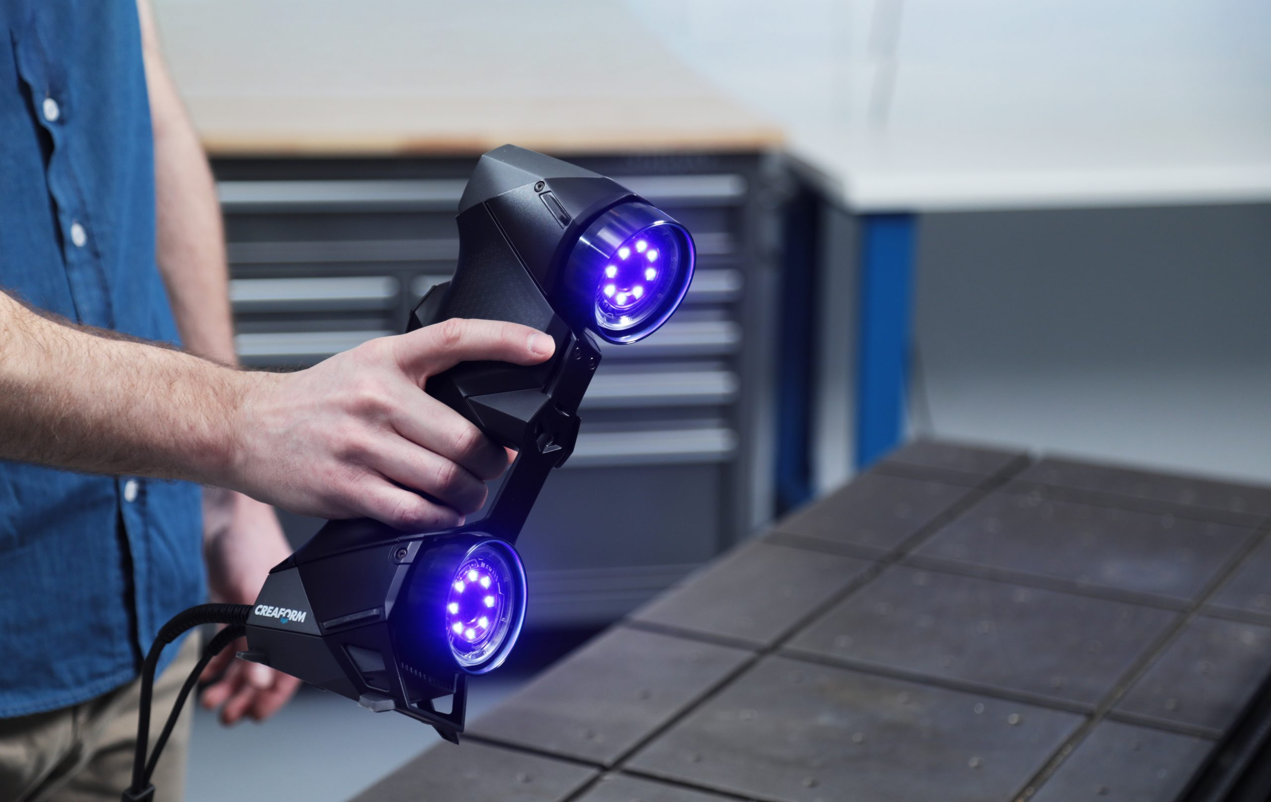 The HandSCAN BLACK, a powerful 3D scanner used by Mercedes