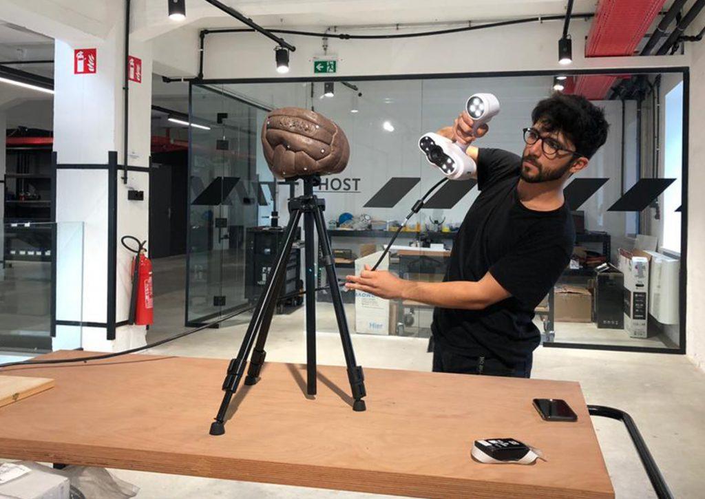 Creative robotics scanning project