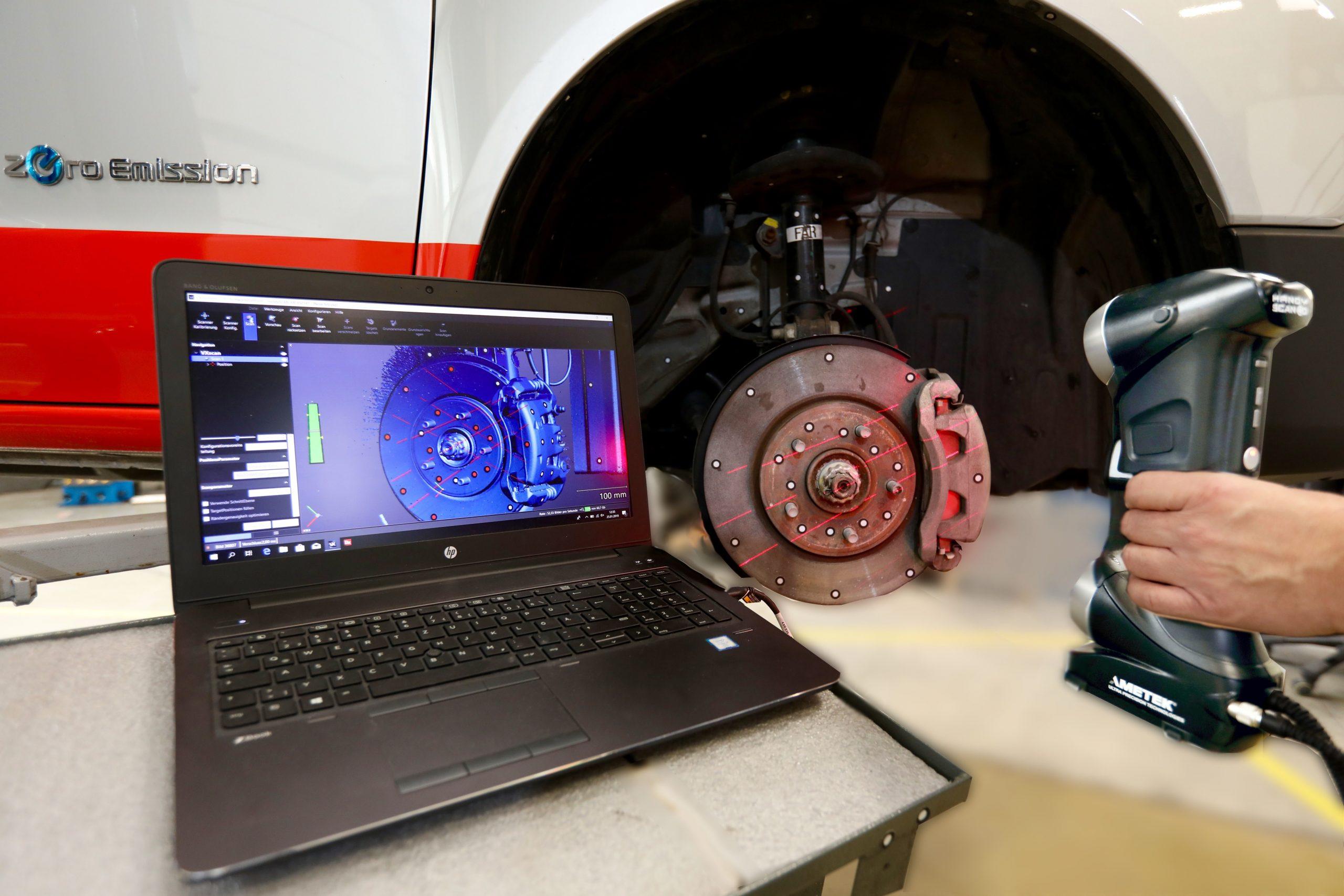 3D scanning live on computer