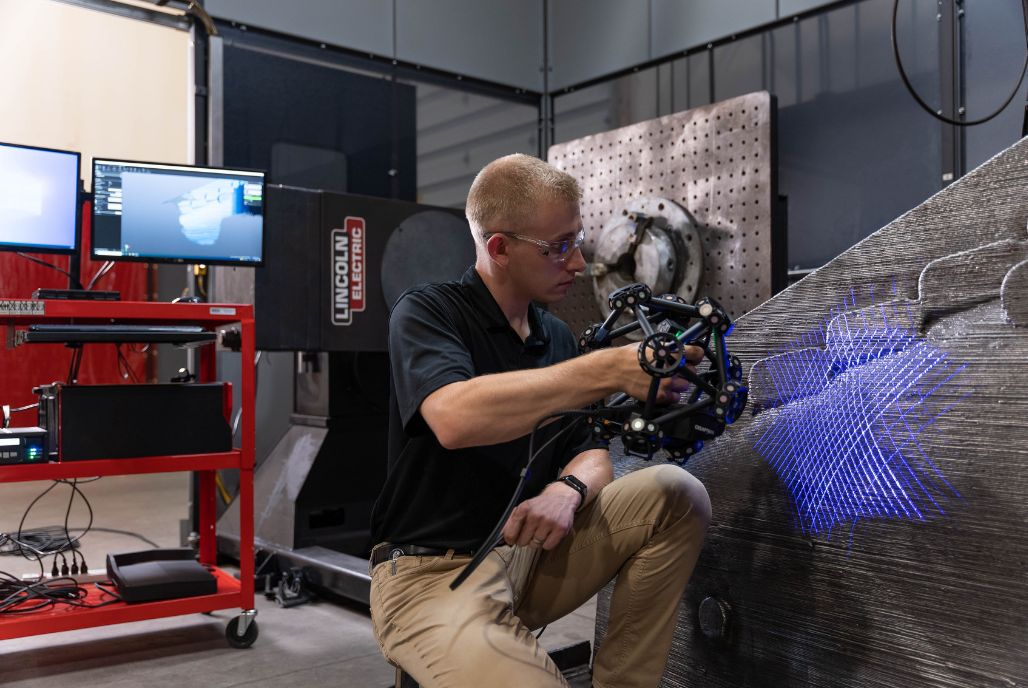 Harnessing the speed, versatility and accuracy of 3D scanning for the additive manufacturing of metal parts
