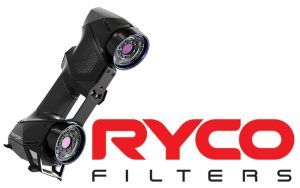 Ryco logo filters with the HandySCAN BLACK 3D scanner