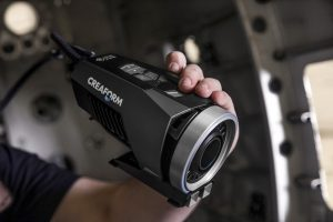 La telecamera per fotogrammetria MaxSHOT 3D misura oggetti di grandi dimensioni con precisione elevata