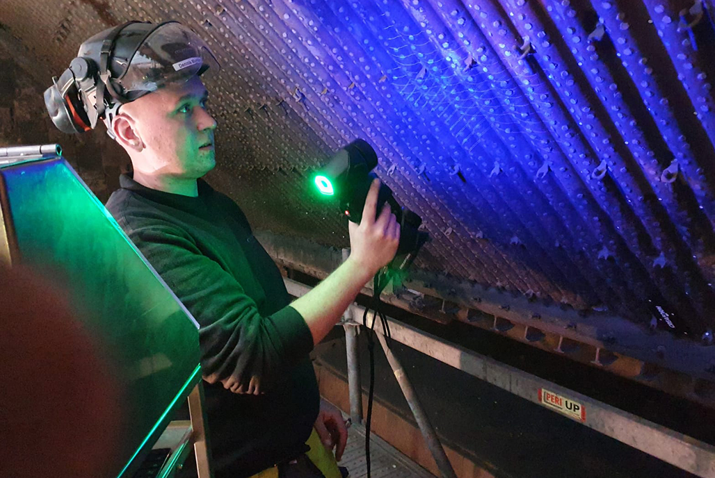 Leveraging 3D Measurement Technologies in Power Plants