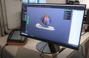 Screenshot of pumpkin 3D scan