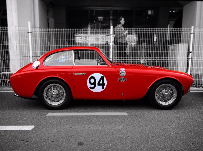 A vintage Ferrari participates at the Monaco Grand Prix thanks to the HandySCAN 3D