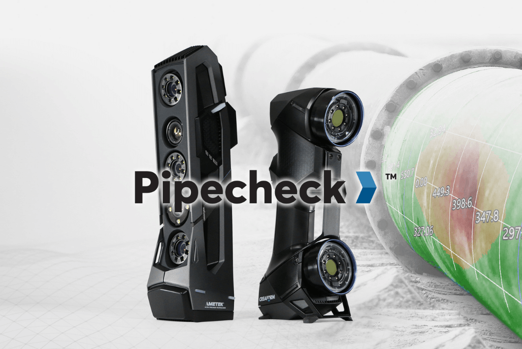 Creaform 3D scanners for Asset Integrity: Pipecheck 6.0