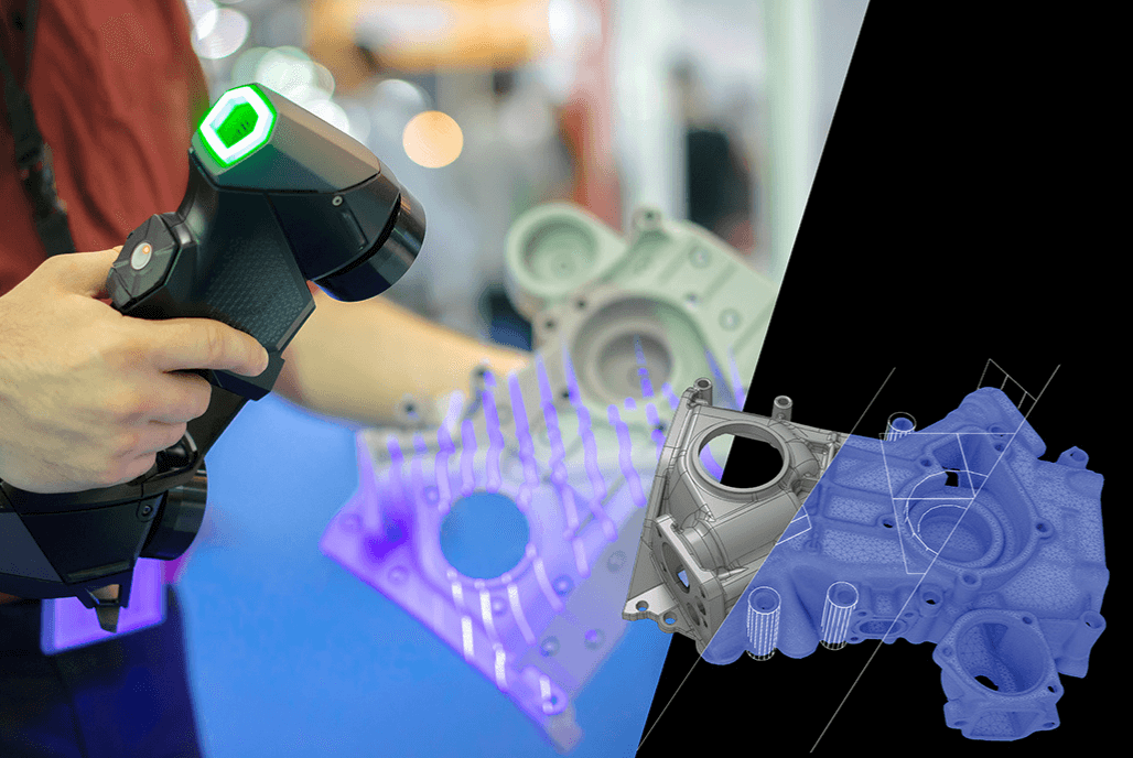 Empower your reverse engineering workflow with Creaform 3D scanners & Geomagic Design X
