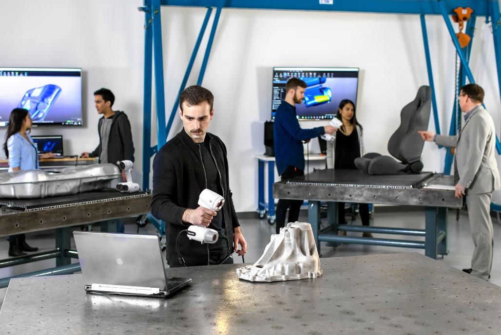 Flexibler 3D Scan für das digitale Forschungs- und Bildungswesen