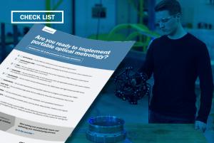 Implement portable optical metrology - check list