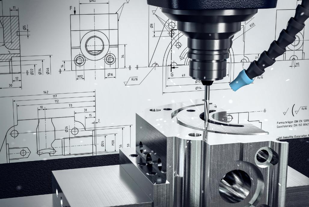 Design, Fräsen und 3D Druck