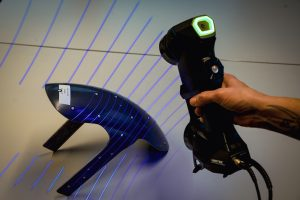 HandySCAN-3D scanning Thunderbike part