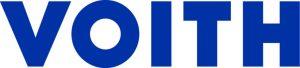 Blue VOITH logo