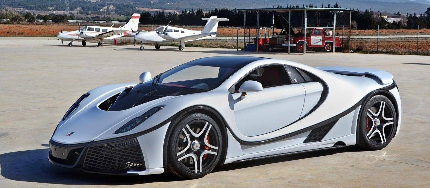 GTA SPANO second generation supersports car