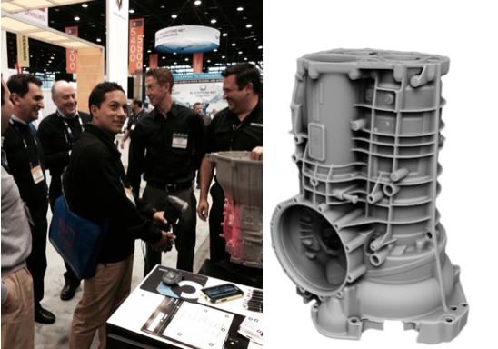 IMTS - Creaform - 3D Scanner - 3D model