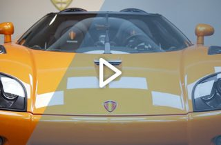 Koenigsegg hypercar video