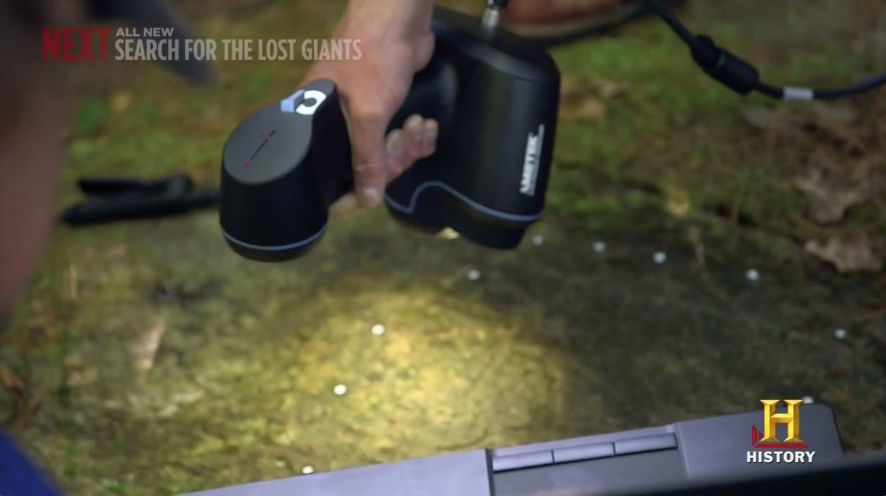 Can the Go!SCAN 3D scanner help resolve the Oak Island mystery?
