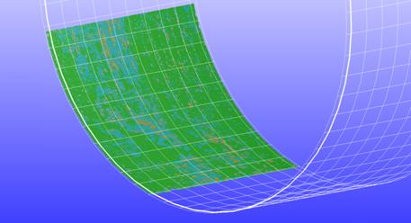 Corrosion 3D Model - Creaform's Pipecheck Software