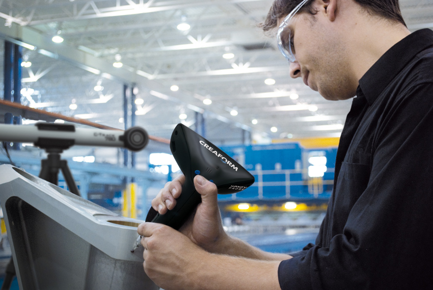 Portable metrology equipment performed directly on the shop floor