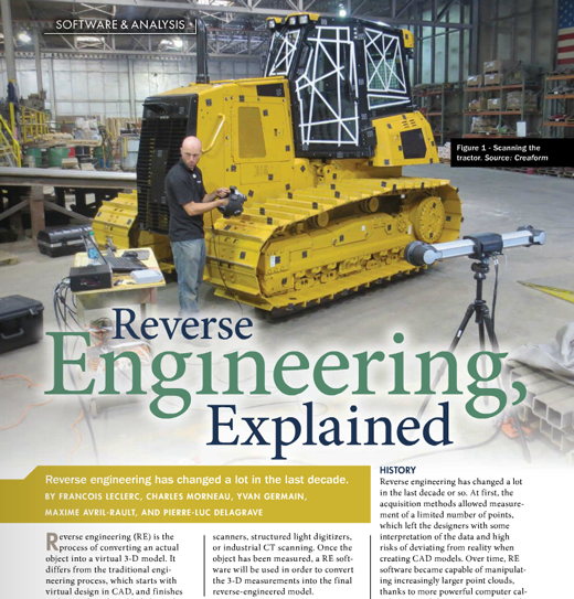 Quality magazine extract: Reverse Engineering