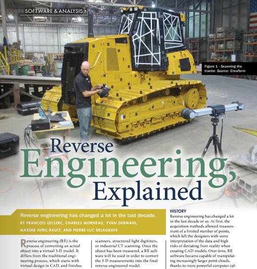 Quality magazine extract: Reverse Engineering