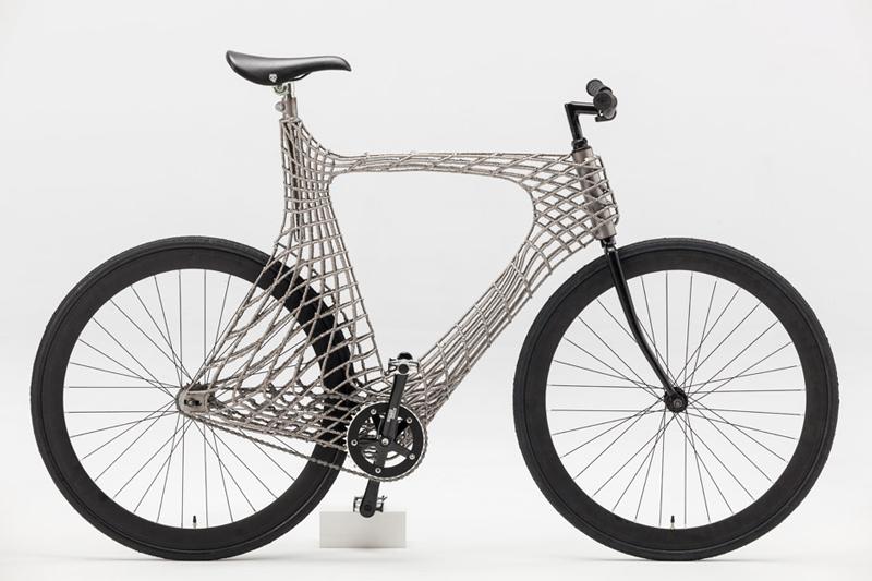 3d printed steel bicycle