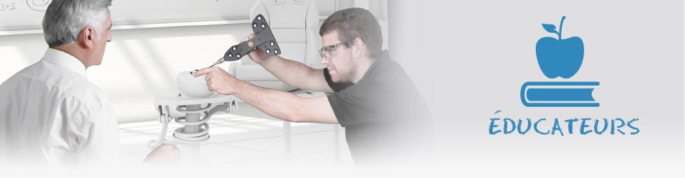 Les éducateurs et les technologies 3D de Creaform