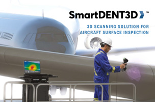 SmartDENT 3D™ : 3D scanning solution for aircraft surface inspection