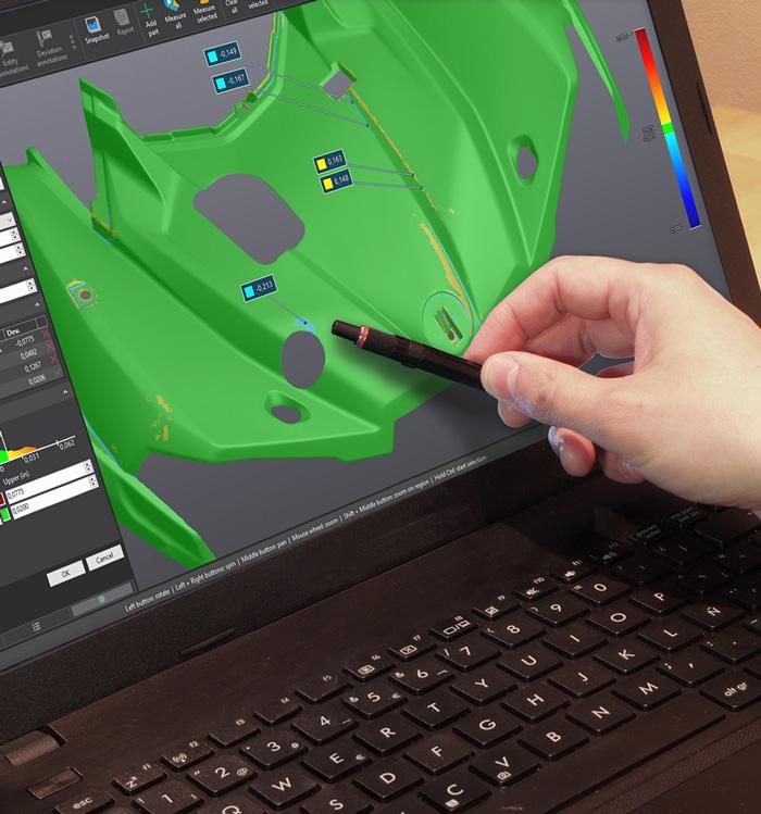 Faster 3D scanning