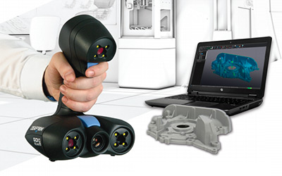 portable 3d scanners for 3d scanning | go!scan 3d by creaform
