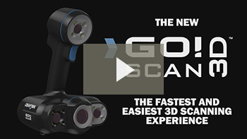 Portable 3D Scanners: Go!SCAN 3D