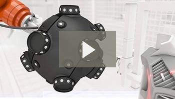 机器人装配式光学 CMM 扫描仪:MetraSCAN-R