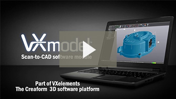 VXmodel: Scan-to-CAD software module