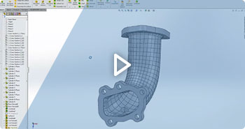Reverse engineering with VXmodel and Solidworks