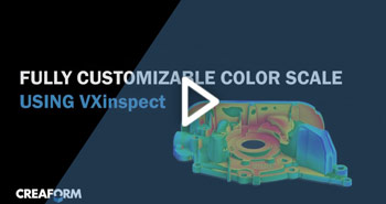 VXInspect Feature Color Scale