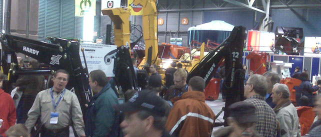 M. Dalois is so satisfied with the Handyscan 3D technology that he uses and advertises it at farm equipment tradeshows.