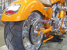 Customizing a Harley-Davidson